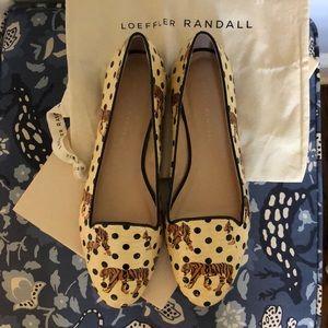 Loeffler Randall Tiger Dot flats